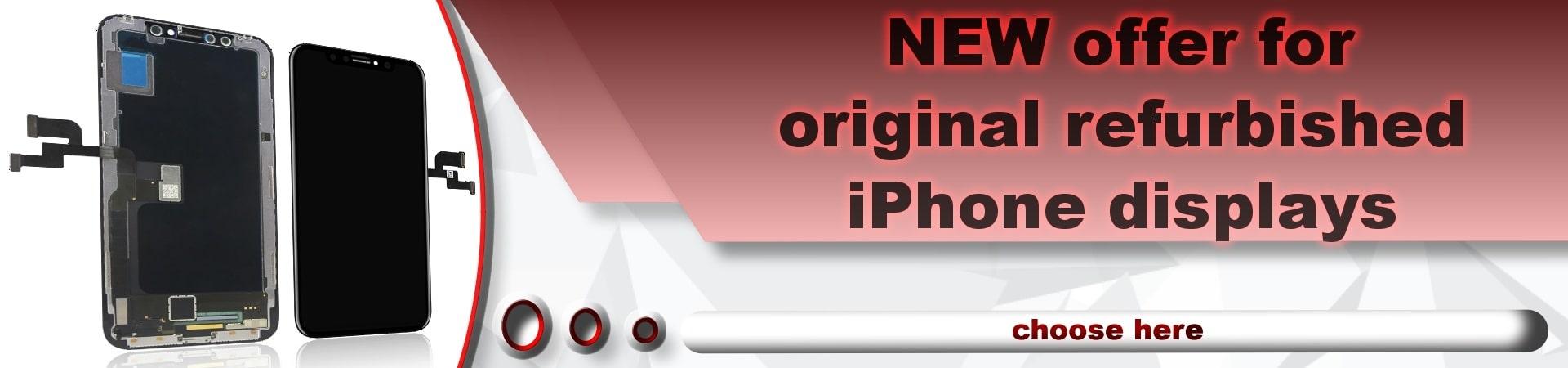 LCD iPhone screen refurb