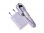 - Ładowarka EP-TA50EWE z kablem ECB-DU4AWE Samsung - biała (oryginalna)