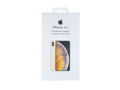 - Ładowarka Adapter + kabel iPhone X 5W USB biały (blister)