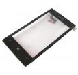 00809L1 - Obudowa przednia z ekranem dotykowym Nokia Lumia 520/ Lumia 525 - czarna (oryginalna)