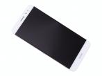 02350XAF - Obudowa przednia z ekranem dotykowym i wyświetlaczem Huawei Nova Plus - biała (oryginalna)