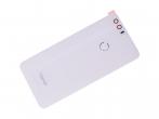 02350XYU - Klapka baterii Huawei Honor 8 - biała (oryginalna)