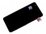 02350YRH - Obudowa przednia z ekranem dotykowym i wyświetlaczem Huawei Nova/ Nova Dual SIM - czarna (oryginalna...