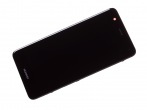 02351CKD - Front cover with touch screen and LCD display Huawei Nova Dual SIM/ Nova - black (original)