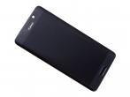 02351CND - Obudowa przednia z ekranem dotykowym i wyświetlaczem Huawei Mate 9 Pro - czarna (oryginalna)