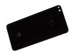 02351CTK - Klapka baterii Huawei P8 Lite (2017)/ P9 Lite (2017) - czarna (oryginalna)
