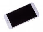 02351DLU, 02351DNG, 02351DYW, 02351VBS - Obudowa przednia z ekranem dotykowym i wyświetlaczem LCD Huawei P8 Lite (2017)/ P9 Lite (2017) - bia...