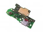 02351GND - Płytka ze złączem USB Huawei Y7 Dual SIM (oryginalna)