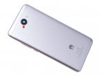 02351HEH - Klapka baterii Huawei Y7 Dual SIM - srebrna (oryginalna)