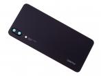 02351WKV - Klapka baterii Huawei P20 - czarna (oryginalna)