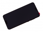 02351WQK - Obudowa przednia z ekranem dotykowym i wyświetlaczem Huawei P20 Pro/ P20 Pro Dual SIM - czarna (oryg...