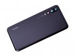 02351WRR-DEM - Oryginalna Klapka baterii Huawei P20 Pro - czarna (demontaż)