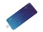 02352BMM - Klapka baterii Huawei P20 - twilight (oryginalna)