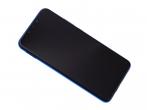 02352BUH - Ekran dotykowy z wyświetlaczem Huawei P Smart Plus - fioletowy (oryginalny)
