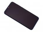 02352HUV - Obudowa przednia z ekranem dotykowym i wyświetlaczem Huawei Honor 10 Lite - sapphire blue (oryginaln...