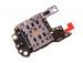 02352PAV - Oryginalny czytnik karty SIM + mikrofon Huawei P30 Pro