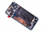 02352PJP - ORYGINALNY Wyświetlacz LCD + ekran dotykowy + bateria Huawei P30 Lite New Edition 2020 (32MP kamera)...