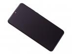 02352RPW - Obudowa przednia z ekranem dotykowym i wyświetlaczem Huawei P30 Lite - czarna (oryginalna)