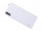02352RQB - Klapka baterii Huawei P30 Lite - biała (oryginalna)