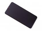 02352RQC - Obudowa przednia z ekranem dotykowym i wyświetlaczem Huawei P30 Lite - biała (oryginalna)