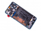 02353FQE, 02353DQS - ORYGINALNY Wyświetlacz LCD + ekran dotykowy + bateria Huawei P30 Lite New Edition 2020 - Peacock Blu...