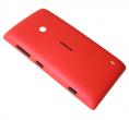 02502Z8 - Klapka baterii Nokia Lumia 520 - czerwona (oryginalna)