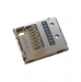 1254-2021, U50001221 - Original microSD connector Sony D5503 Xperia Z1 Compact/ C6602, C6603, C6606 Xperia Z/ C6902, C6903, C6906, C6943 Xperia Z1/ D5322 Xperia T2 Ultra Dual/ D5303, D5306 Xperia T2 Ultra/ D5788 Xperia J1 Compact