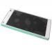 1297-3732 - Obudowa przednia z ekranem dotykowym i wyświetlaczem LCD Sony E5803/ E5823 Xperia Z5 Compact - biała (oryginalna)