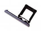 1309-6694 - Szufladka karty Sony G8343 Xperia XZ1/ G8341 Xperia XZ1 Dual SIM - niebieska (oryginalna)