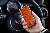 13924 - Skórzany Back Cover VETTI Samsung Galaxy S7 EDGE G935 brązowy