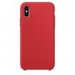 14 - Etui silikonowe iPhone X/XS czerwone