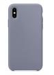 28 - Etui silikonowe Iphone X/XS ciemny lawendowy