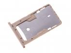 300080800000 - Szufladka karty SIM Xiaomi Redmi 4A - złota (oryginalna)