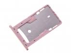 300080801000 - Szufladka karty SIM Xiaomi Redmi 4A - rose gold (oryginalna)