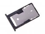 300080801100 - Szufladka karty SIM Xiaomi Redmi 4A - szara (oryginalna)
