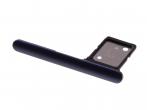 306J2DE0700 - Szufladka karty SIM Sony I3113, I3123, I4113, I4193 Xperia 10 - navy (oryginalna)