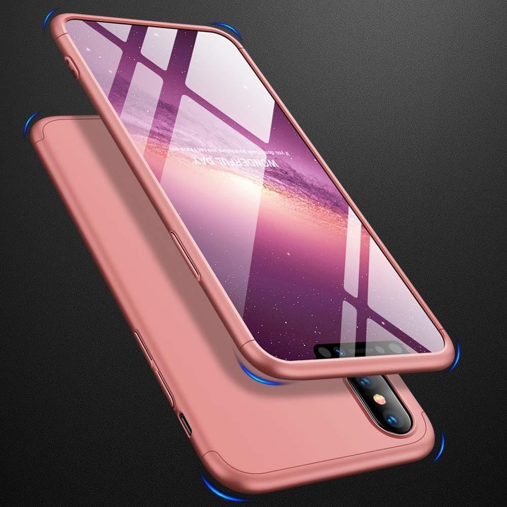 quality design c703f ced52 360 case Xiaomi Redmi 5 Plus / Redmi Note 5 (single camera) pink