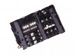 3709-001891 - Czytnik karty SIM i SD Samsung SM-A310/ SM-A510/ SM-A810/ SM-G610/ SM-J530/ SM-J730/ SM-J330/ SM-G61...