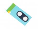 51638583 - Folia klejąca szybki kamery Huawei P Smart Plus (oryginalna)