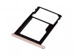 51660WJQ - Szufladka karty SIM i SD Huawei Honor 5X - złota (oryginalna)