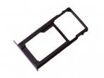 51660WJR - Szufladka karty SIM i SD Huawei Honor 5X - szara (oryginalna)
