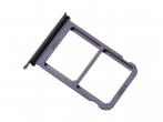 51661JAU - Szufladka karty SIM i SD Huawei P20 - niebieska (oryginalna)