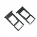 51661JUE - Oryginalna szufladka karty SIM Huawei P Smart Plus - czarna