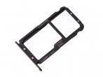 51661KAV - Oryginalna Szufladka karty SIM Huawei Mate 20 Lite - czarna
