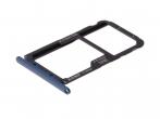 51661KAW - Oryginalna Szufladka karty SIM Huawei Mate 20 Lite - niebieska