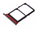 51661LAL, 51661NQJ - Oryginalna Szufladka karty SIM i SD Huawei P30 - czarna