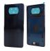 55050000JZ6D - Oryginalna Klapka baterii Xiaomi Poco X3 - czarna
