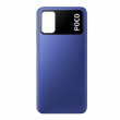 55050000Q79X - Oryginalna Klapka baterii Xiaomi Poco M3 - niebieska