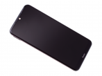 5600020C3X00 - Obudowa przednia z ekranem dotykowym i wyświetlaczem Xiaomi Redmi Note 8T - biała (oryginalna)