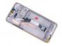 56000300G700 - Obudowa przednia z ekranem dotykowym i wyświetlaczem Xiaomi Redmi Note 8 Pro - biała (oryginalna)